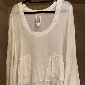 FreePeople Cream Long-Sleeve